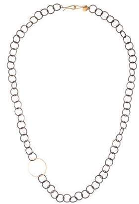 Melissa Joy Manning Circle Link Chain Necklace