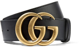 Gucci - Leather Belt - Black $420 thestylecure.com