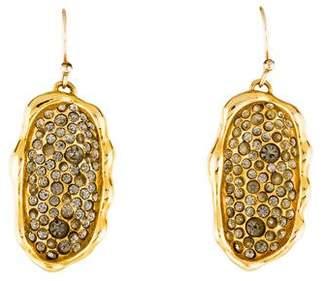 Alexis Bittar Pavé Crystal Drop Earrings