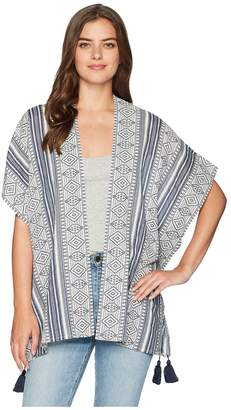 Miss Me Dolman Sleeve Tassel Cardigan Women's Sweater