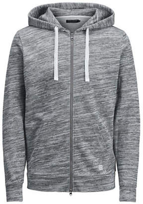 Jack and Jones Zip-Up Cotton Hoodie