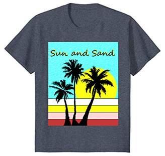 Sun and Sand - summer tshirt with beach design