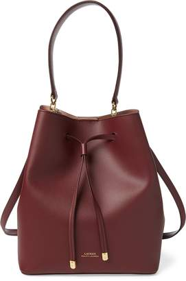 4c94bb478652 Ralph Lauren Leather Debby Drawstring Bag
