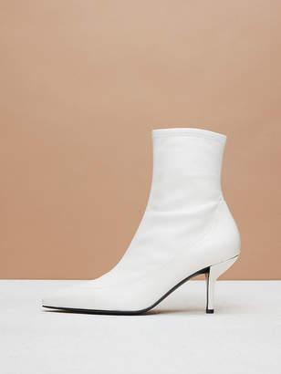 Diane von Furstenberg Morgan Leather Booties
