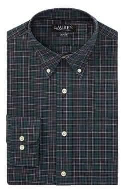 Lauren Ralph Lauren Slim-Fit Plaid Dress Shirt