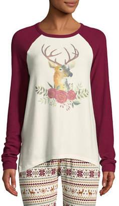 PJ Salvage Lost In Wonder Deer Pyjama Top
