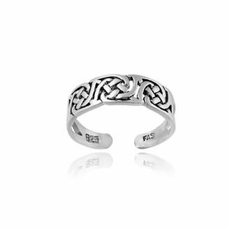 Celtic Top Seller Irish Sterling Silver Knot Toe Ring