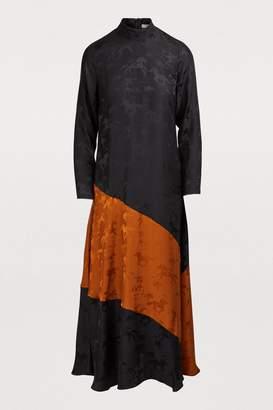 Ganni Ackerly silk pants