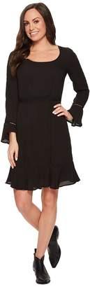 Stetson 1494 Poly Crepe Long Sleeve Dress Women's Dress