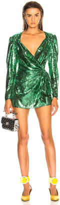 ATTICO Consuelo Sequined Mini Dress