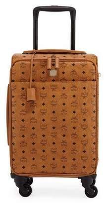 MCM Traveler Visetos Travel Trolley/Rolling Carryon Suitcase Luggage