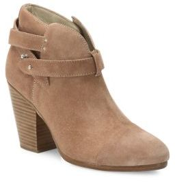 Rag & Bone Harrow Suede Booties $495 thestylecure.com