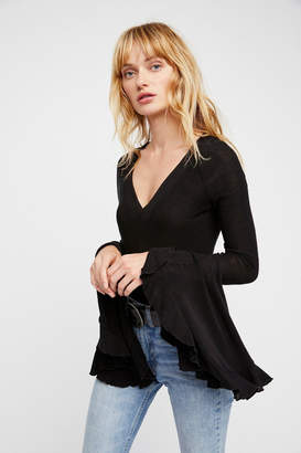 Free People Too Dramatic Top