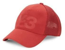 Y-3 Men's Logo Trucker Cap - Rust Red
