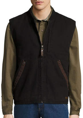 Smith Workwear Smith's Workwear Sherpa Lined Duck Canvas Vest-Regular
