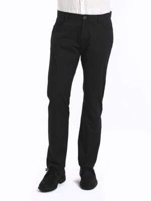 Calvin Klein Four-Pocket Sateen Pants