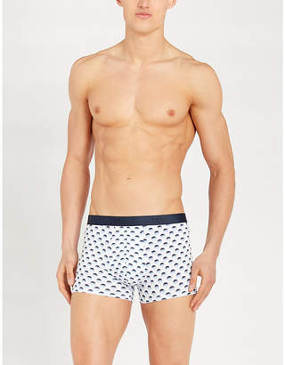 Derek Rose Hipster slim-fit stretch-cotton boxer shorts