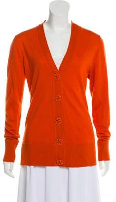 Tory Burch Wool Button-Up Cardigan