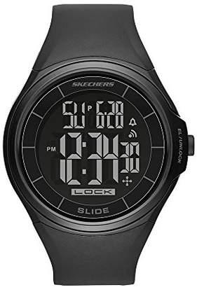 Skechers Men's Dow Slide Digital Plastic Chronograph Watch