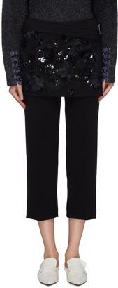3.1 Phillip Lim Embellished lace apron pants