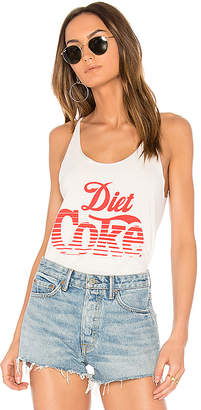 Junk Food Diet Coke Tank in White $45 thestylecure.com