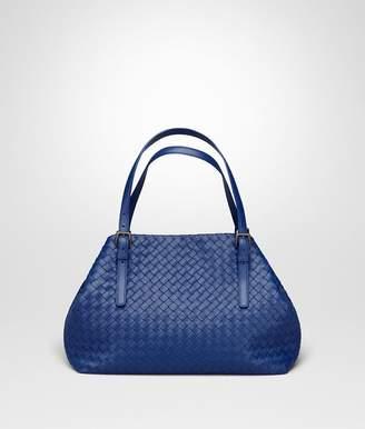 Bottega Veneta Cobalt Intrecciato Nappa Medium Cesta Bag