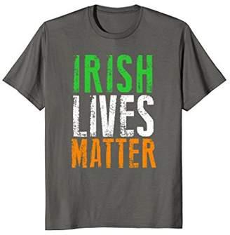 Irish Lives Matter Ireland Pride Flag Tricolour T Shirt