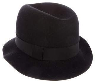 Giorgio Armani Felt Bucket Hat