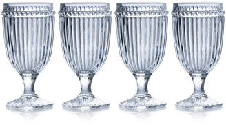 Mikasa Italian Countryside Iced Beverage Glasses, Set of 4
