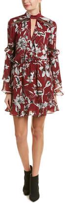 Parker Bell-Sleeve Shift Dress
