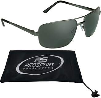 0b2652e3c94 proSPORTsunglasses Square Aviator Polarized Bifocal Sunglasses for Men.