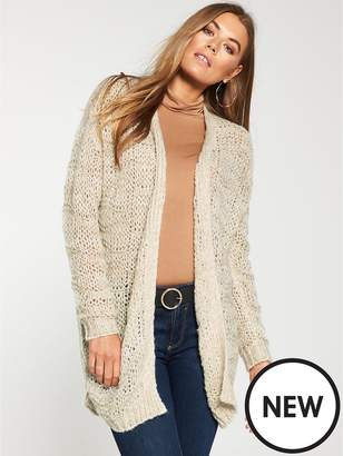 66ca567257b at Littlewoods · Very Stitch Detail Edge To Edge Cardigan - Biscuit