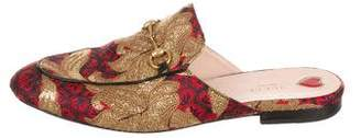 Gucci Brocade Horsebit Mule