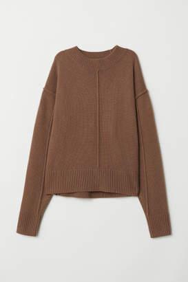 H&M Knit Wool Sweater - Beige