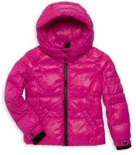S13/Nyc Little Girl's Quilted Parka