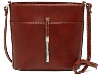 Lisa Minardi Calfskin Leather Crossbody Bag