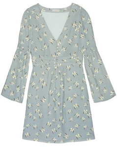 Hoss Intropia Patterned Butterfly Dress - 44 / 930 Green Print - Blue