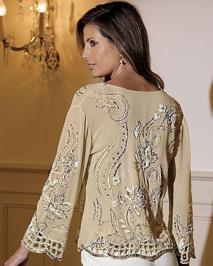 Together® Embellished cardigan