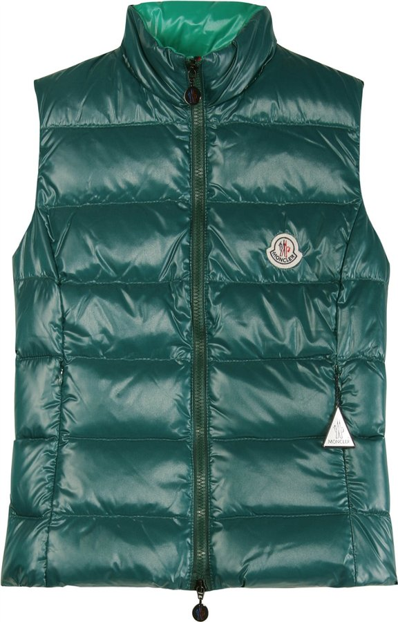 Moncler Ghany Quilted Down Vest
