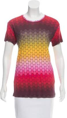 Jonathan Saunders Polka Dot Print T-Shirt