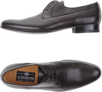 a. testoni A.TESTONI Lace-up shoes - Item 11071101MO