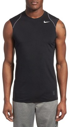 Men's Nike 'Pro Cool Compression' Fitted Dri-Fit Tank $28 thestylecure.com