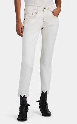"R 13 Women's ""Boy Skinny"" Jeans - White"