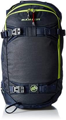 Mammut Nirvana Flip, Unisex Adults' Backpack, Blue (Marine/Sprout), 15x17x25 cm (W x H L)