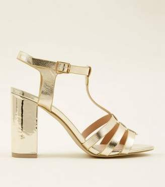 f05b85cdc086 New Look Pink Block Heel Sandals For Women - ShopStyle UK