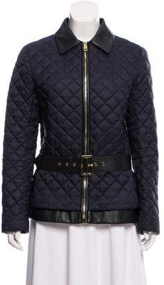 Salvatore Ferragamo Quilted Short Coat
