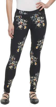 Utopia By Hue Women's Utopia by HUE Fusion Floral Print Leggings