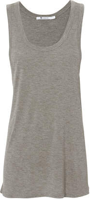 Alexander Wang Oversized Heather Grey Tank