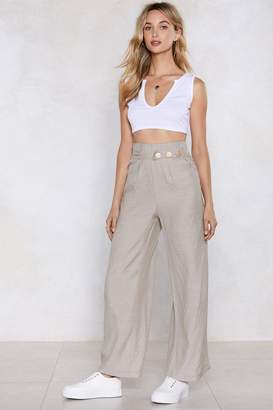 Nasty Gal Coining the Phrase Wide-Leg Pants