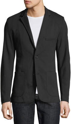 Civil Society Harlin Knit Blazer, Black